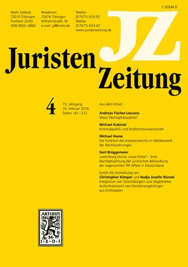 JuristenZeitung (JZ)