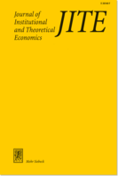 Journal of Institutional and Theoretical Economics (JITE)