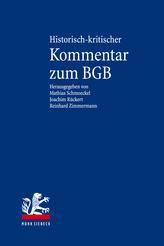 Historisch-kritischer Kommentar zum BGB