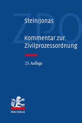 Kommentar zur Zivilprozessordnung (23. Aufl.)