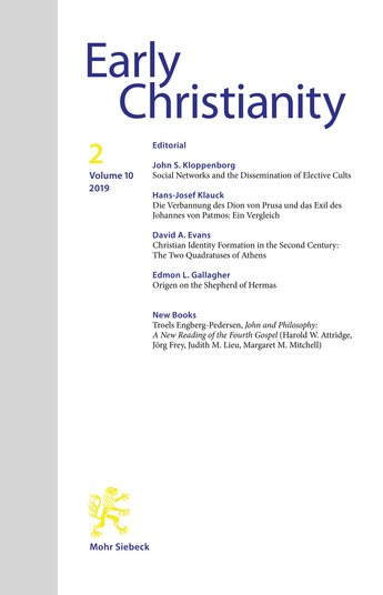 Christian Identity Formation in the Second Century