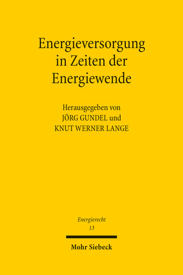Energieversorgung in Zeiten der Energiewende