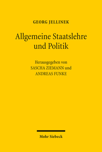 Allgemeine Staatslehre und Politik