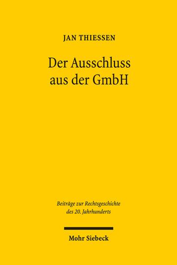 Der Ausschluss aus der GmbH