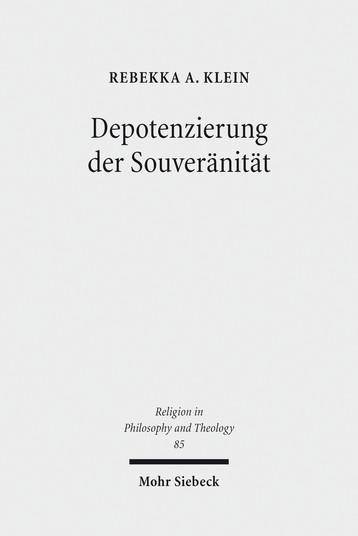 Depotenzierung der Souveränität