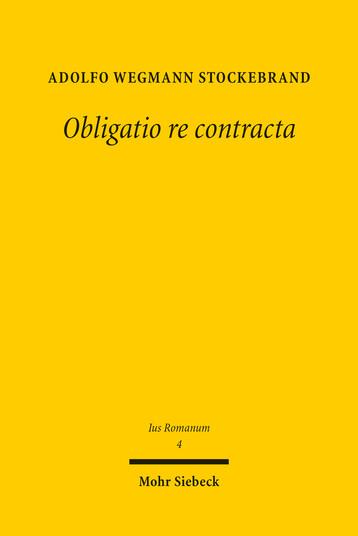 Obligatio re contracta