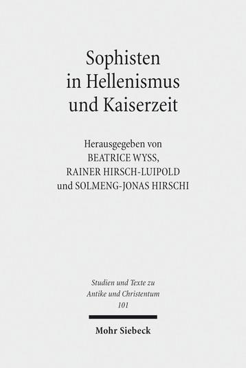 Sophisten in Hellenismus und Kaiserzeit