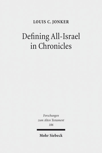Defining All-Israel in Chronicles