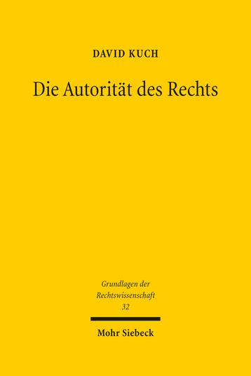 Die Autorität des Rechts