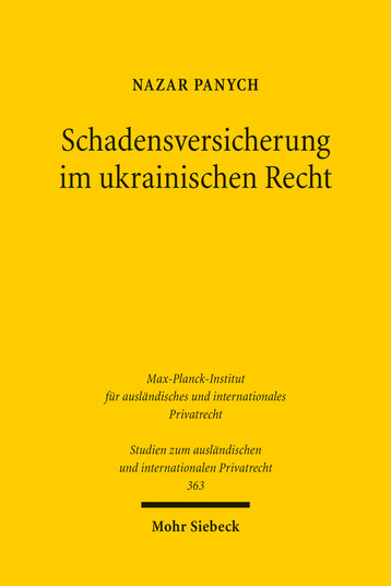 Schadensversicherung im ukrainischen Recht