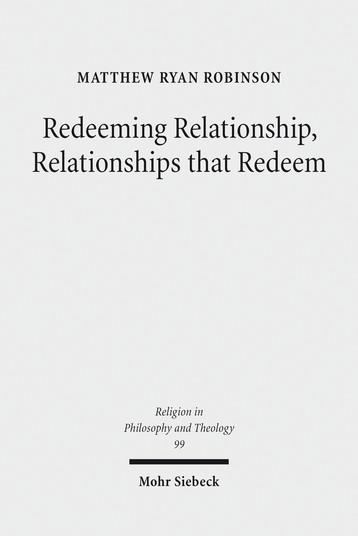Redeeming Relationship, Relationships that Redeem