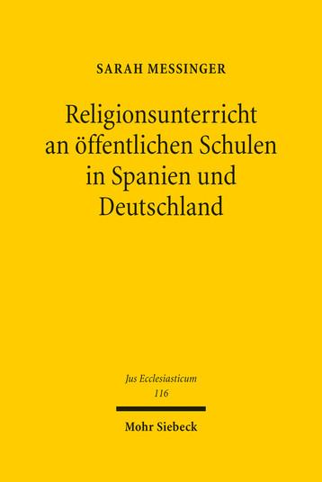 Religionsunterricht an öffentlichen Schulen in Spanien und Deutschland