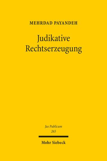 Judikative Rechtserzeugung