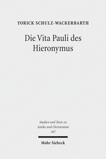Die Vita Pauli des Hieronymus