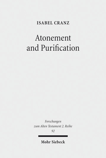 Atonement and Purification