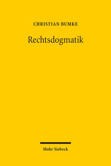 Rechtsdogmatik