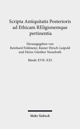 SAPERE-Paket, Bände XVII-XXI