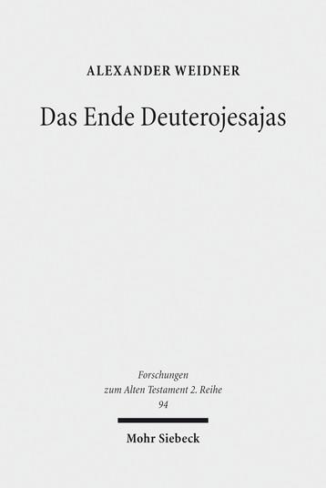 Das Ende Deuterojesajas
