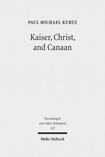 Kaiser, Christ, and Canaan