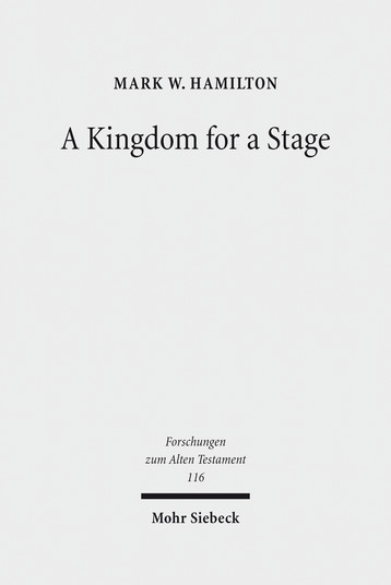 A Kingdom for a Stage