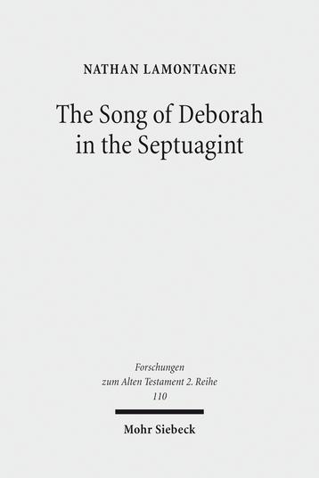 The Song of Deborah in the Septuagint