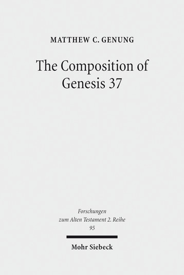 The Composition of Genesis 37