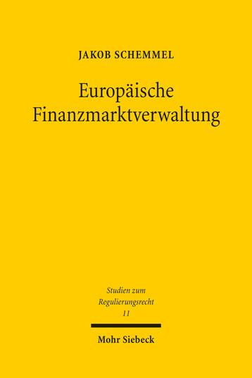 Europäische Finanzmarktverwaltung