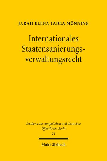 Internationales Staatensanierungsverwaltungsrecht