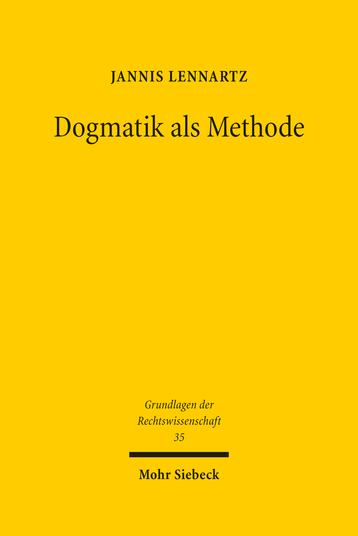 Dogmatik als Methode