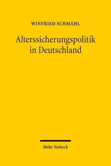 Alterssicherungspolitik in Deutschland