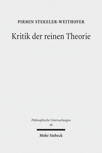 Kritik der reinen Theorie