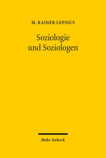 Soziologie und Soziologen