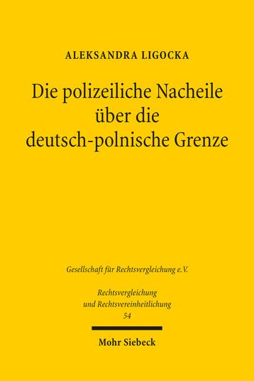 Die polizeiliche Nacheile über die deutsch-polnische Grenze
