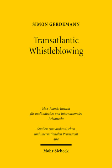 Transatlantic Whistleblowing