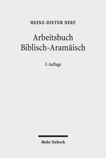 Arbeitsbuch Biblisch-Aramäisch