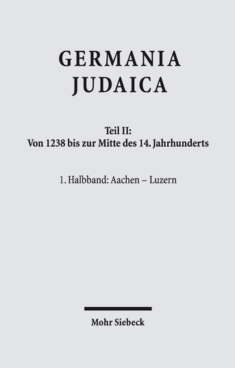 Germania Judaica