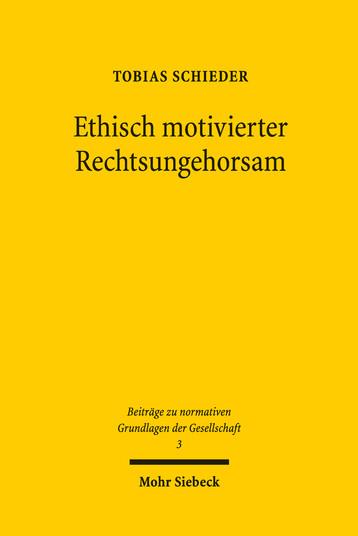 Ethisch motivierter Rechtsungehorsam