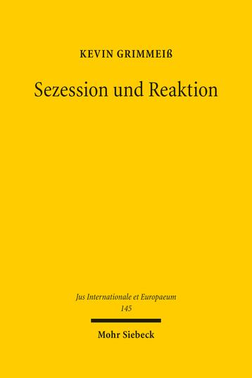 Sezession und Reaktion