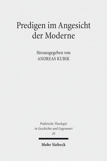 Predigen im Angesicht der Moderne