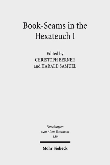 Book-Seams in the Hexateuch I