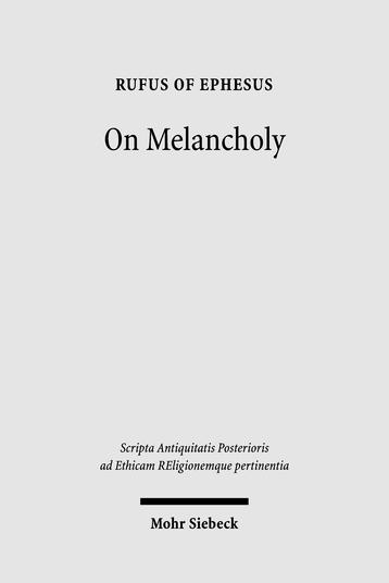 On Melancholy