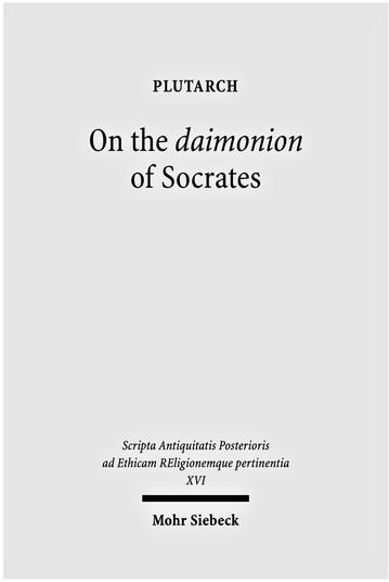 On the daimonion of Socrates