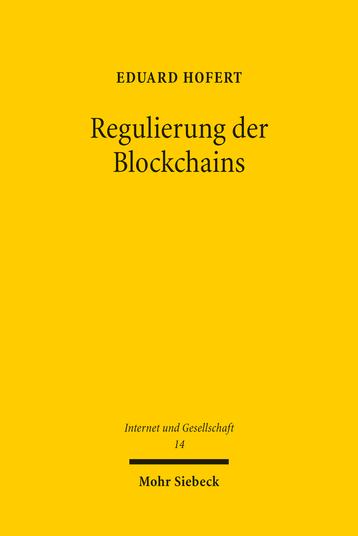 Regulierung der Blockchains