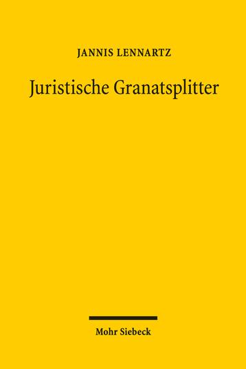 Juristische Granatsplitter