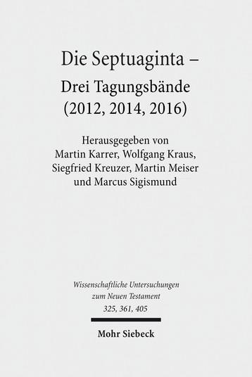 Die Septuaginta