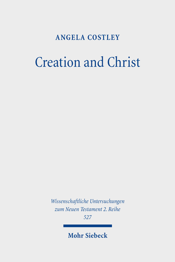Creation and Christ