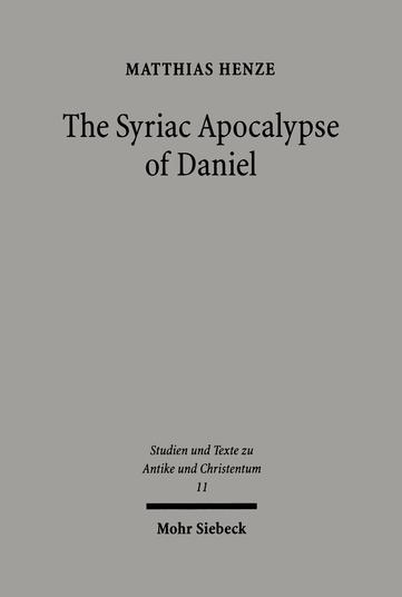 The Syriac Apocalypse of Daniel