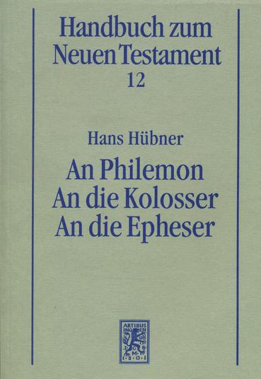 An Philemon. An die Kolosser. An die Epheser