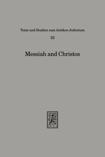 Messiah and Christos