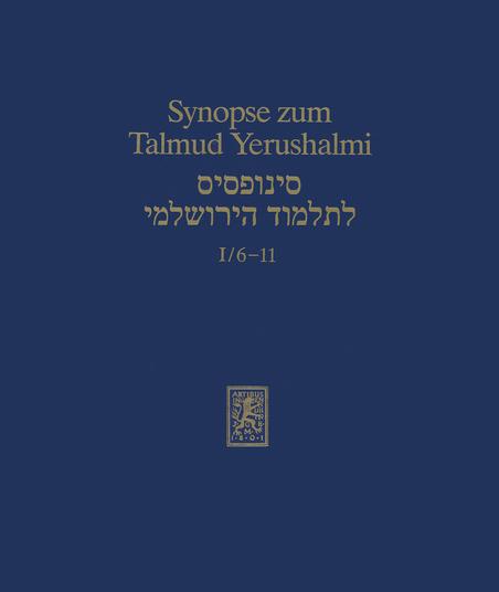 Synopse zum Talmud Yerushalmi